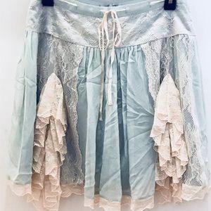 RARE Betsey Johnson Victorian Lace Skirt